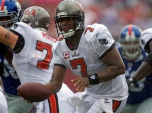 Tampa Bay Buccaneers quarterback Byron Leftwich