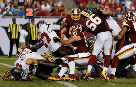 Buccaneers Fail to Finish; Fall in Final Seconds to Redskins 24…