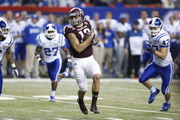 Buccaneers Go WR with 7th Pick – Take Texas A&M's Mike Evans