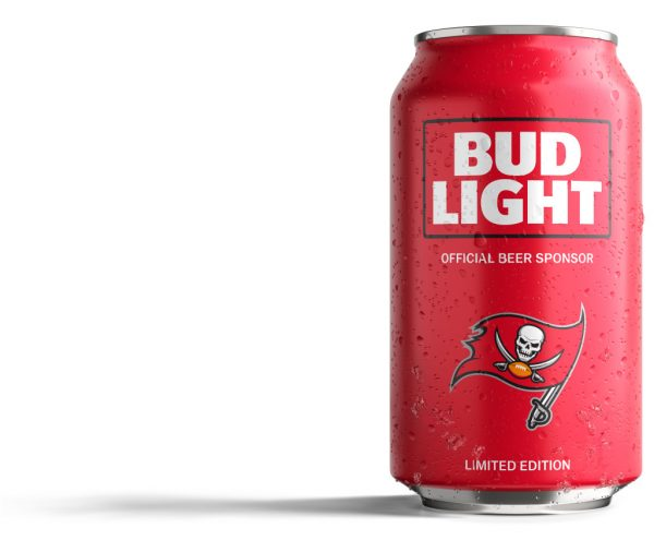 Bud Light Buccaneers Can